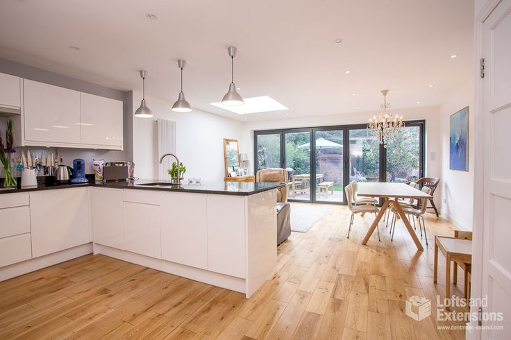 Single Storey Kitchen Extension By Lu0026E (Lofts And Extensions) In  Twickenham. Kitchen