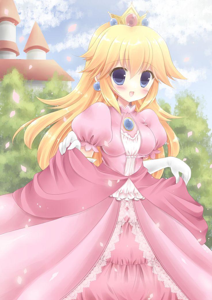 princess peach mario Super