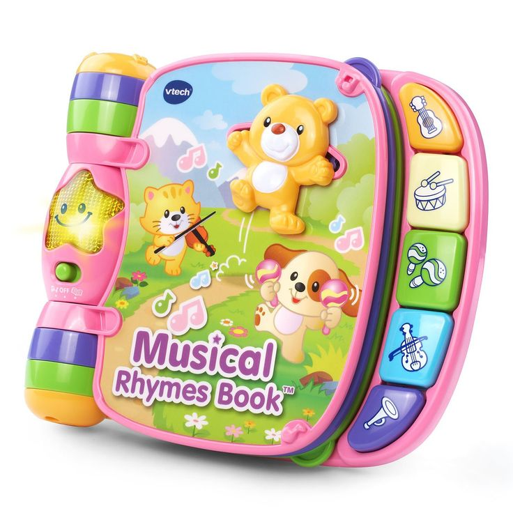 VTech Musical Rhymes Book - Pink