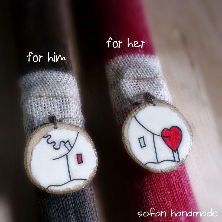 ! ♥ SofaN handmade: Φλεβάρης και λαμπάδες. Γίνεται!
