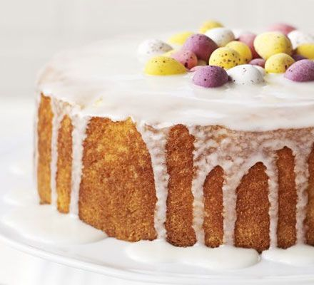 Lemon & orange cake. This citrus centrepiece has a secret ingredient that gives the cake a lovely texture, yet makes it gluten- and wheat-free.
