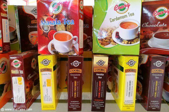 Top Coorg Souvenirs To Pick Shopping In Madikeri Inditales How To Make Tea Vanilla Tea Tea Powder