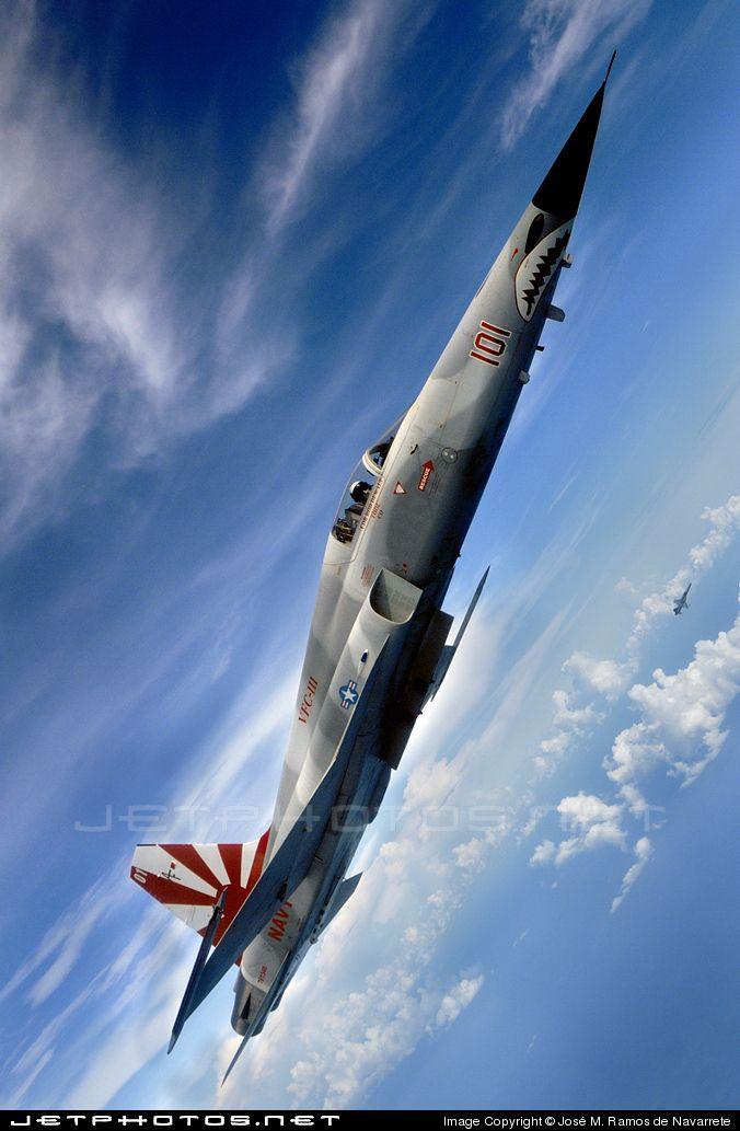 "US Navy | Northrop F-5N Tiger II | VFC-13 ""Saints"" | The best F-5 photo ever !"