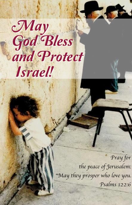 So: HONESTLY SPEAKING:  How many of you go to a CHURCH that OBEYS GOD who tells us, NOW, to Pray for the Peace of #Jerusalem?This scripture comes with a prayer that we who pray for #Israel and ove her may prosper. WAKE, GOD'S CHURCH! - https://www.pinterest.com/DianaDeeOsborne/wake-gods-church/ - OBEY Him! Enemies have tried to wipe out Jews all through precious lives.  May God Bless Israel and Protect her and we who pray as churches for her from Evil Hatred.