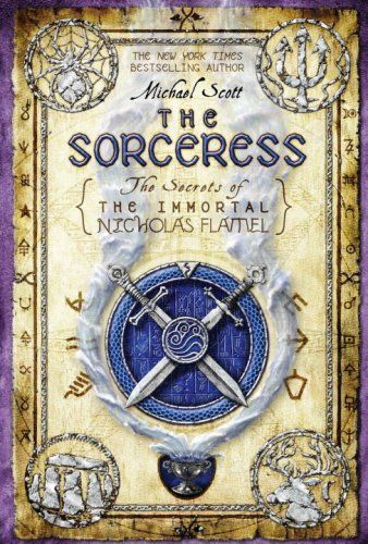 The Sorceress (The Secrets of the Immortal Nicholas Flamel) by Michael Scott. One in a series of fascinating fiction {Ages 12+} 12.85