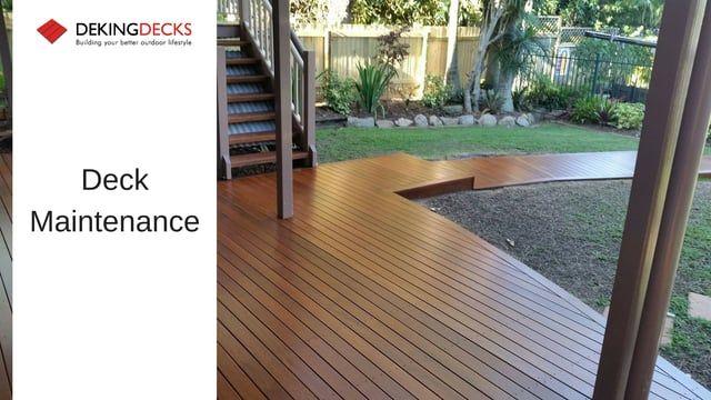 Deck Maintenance Brisbane Gold Coast Wooden Deck Maintenance Deking Decks Timber Deck Deck Deck Builders