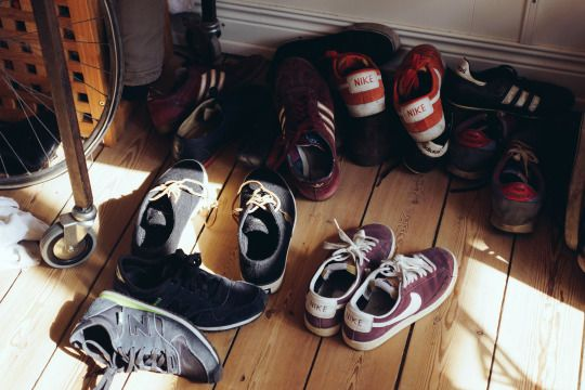 Location: Brian and Mason's apartment. They take off their shoes before entering, and demand that all visitors do the same. Ami and Riki do it naturally (old habit from their childhood), Marisol and Jesse pick it up very quickly, while Kei, Maisie, and Margot are the ones most often yelled at by the two of them. (7)