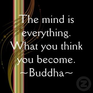 Your mind is a powerful weapon, used it accordingly, think positive thoughts and your life will be transformed.