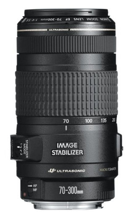 Объектив Canon EF 70-300 mm f/4-5.6 IS USM  ―  Fotofishka.ru - интернет магазин фототехники
