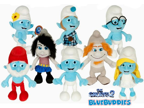 the smurfs 2  | The Smurfs 2 Plush Toys