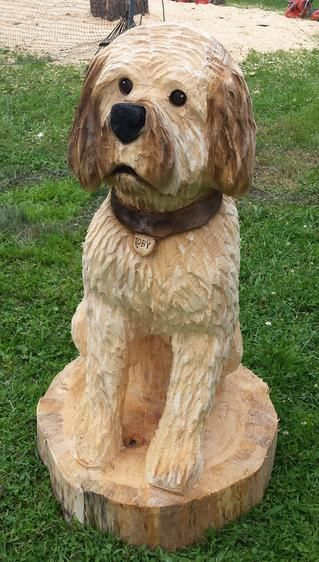 Custom pet carving dog puppy perfect gift too cute josh