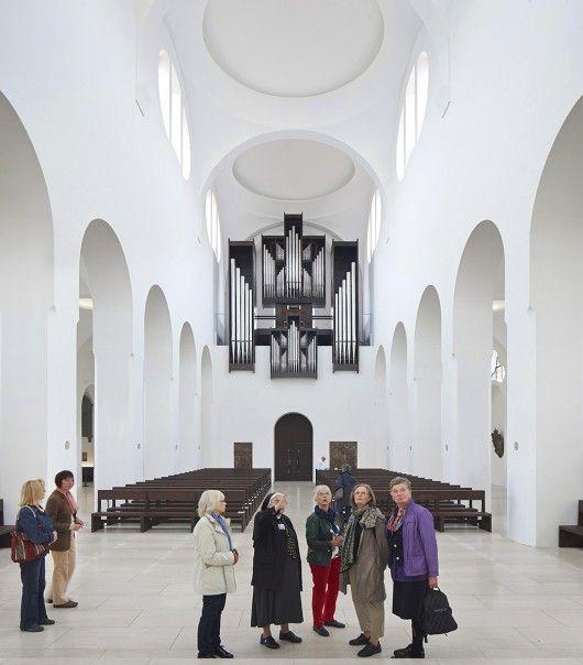 Interior Remodeling of St. Moritz Church. Sankt Moritz, Augsburg, Germany. Archi: John Pawson. Photo: Hufton+Crow.