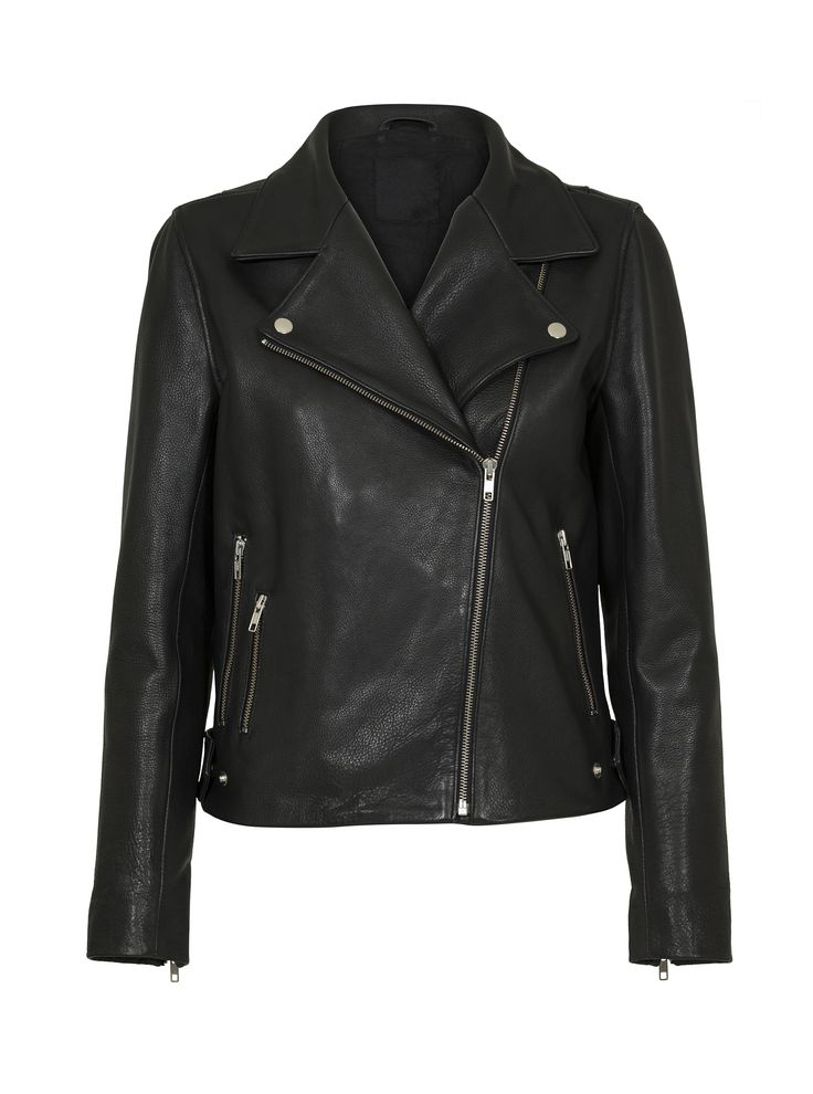 JUST FEMALE SPRING 2015 // CAME LEATHER JACKET