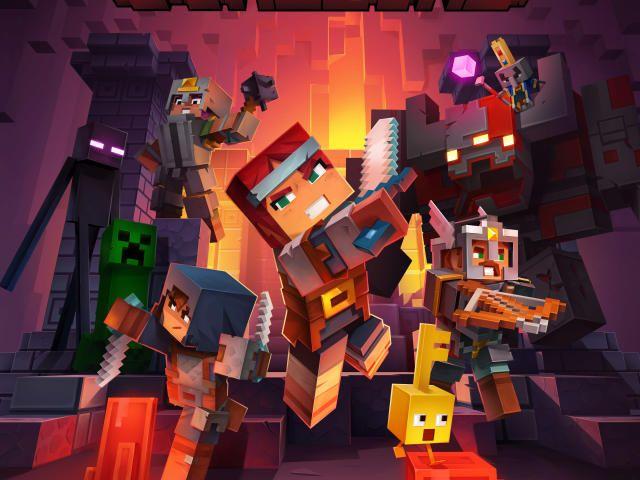 2019games 4k Games 5k Minecraftdungeons Minecraftgame Minecraft Dungeons Minecraft Wallpaper Minecraft Pictures Minecraft