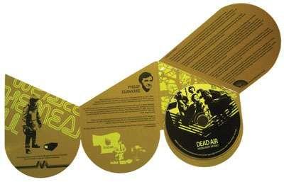 CD packaging - unique cut out