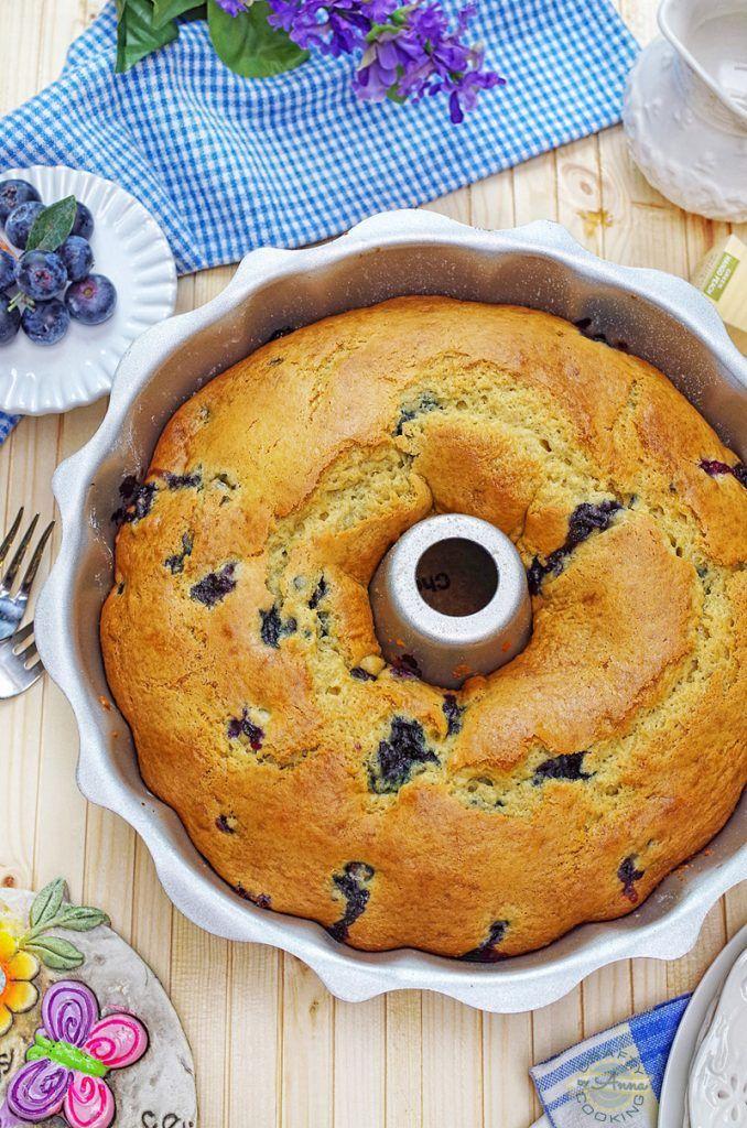 Blueberry Sour Cream Bundt Cake Very Simple And Delicious Recipe Recipe In 2020 Blueberry Sour Cream Cake Blueberry Cake Recipes Sour Cream Recipes