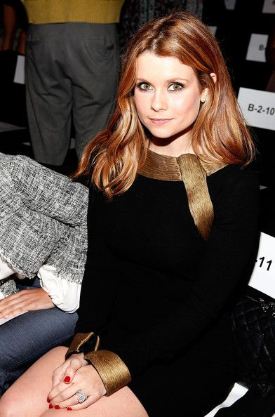 Hair color? Joanna Garcia Photo - Monique Lhuillier - Front Row - Spring 2012 Mercedes-Benz Fashion Week
