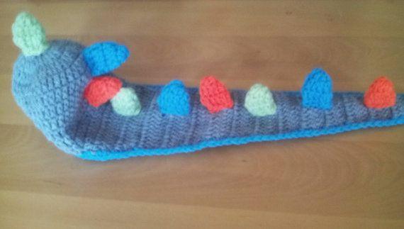 Check out this item in my Etsy shop https://www.etsy.com/uk/listing/469386049/dinosaur-hat-crochet-dino-hat-dinosaur