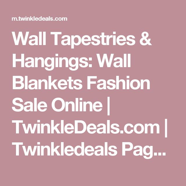Wall Tapestries & Hangings: Wall Blankets Fashion Sale Online | TwinkleDeals.com | Twinkledeals Page 5