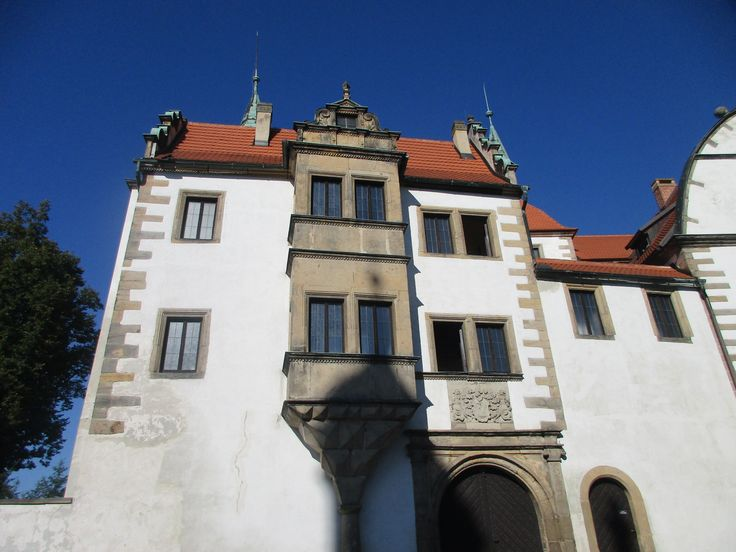 Dolní zámek - saská renesance - Benešov nad Ploučnicí - Ústecký kraj - Česko