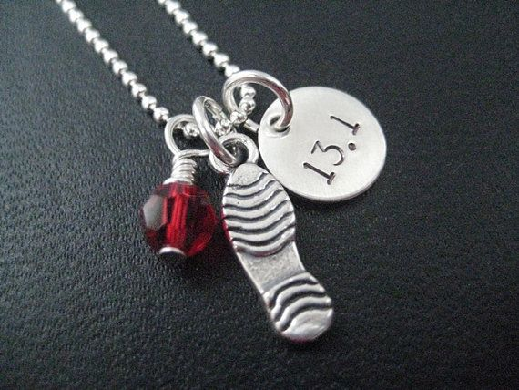 LOVE to RUN 131  18 inch Sterling Silver Half by TheRunHome, $33.00