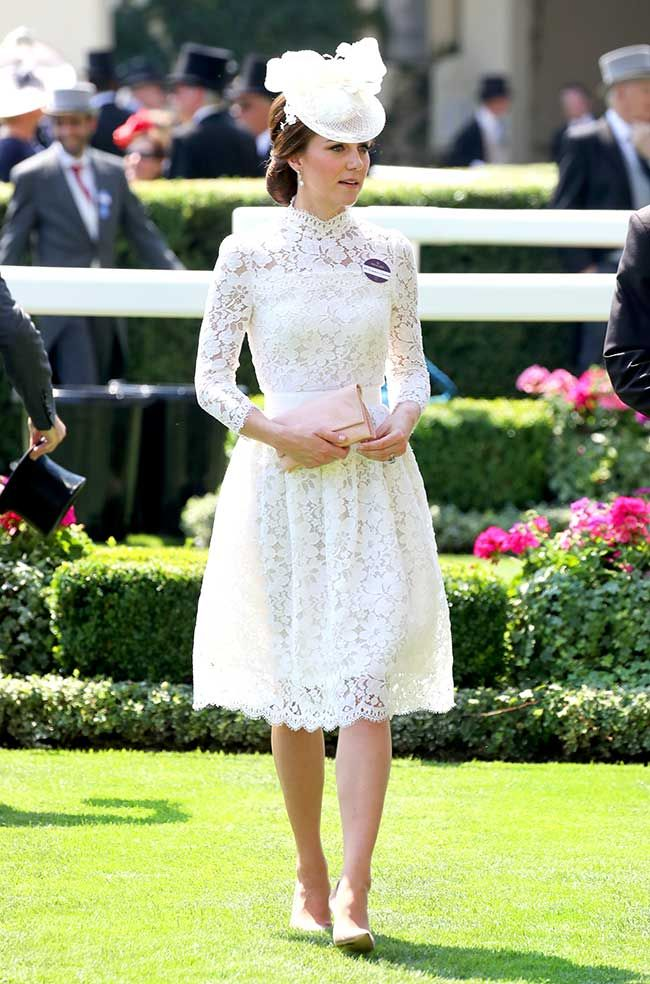 Kate Middleton wears Alexander McQueen to Royal Ascot