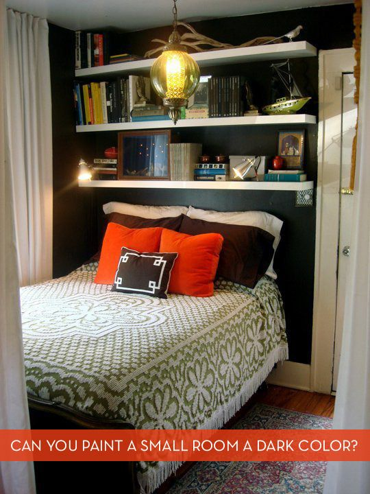 Painting Small Bedrooms Delectable Inspiration