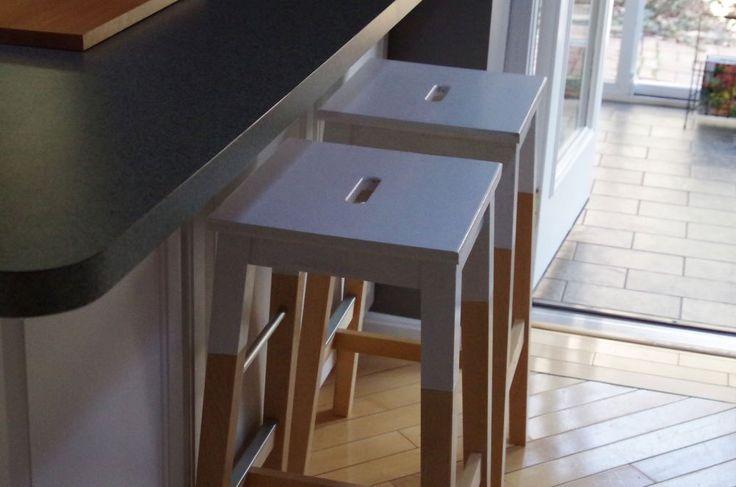 Bosse Bar Stool Dip Painting Ikea Hack Rast Hacks