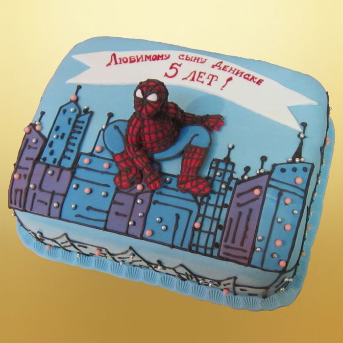 Детский торт для мальчика владимир