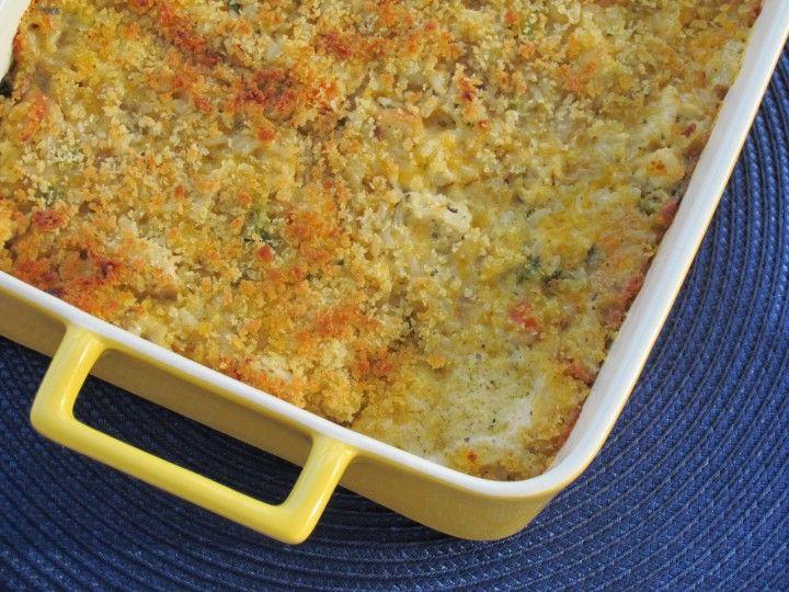 Chicken, Brown Rice, and Veggie Casserole Recipe | Thriving Home