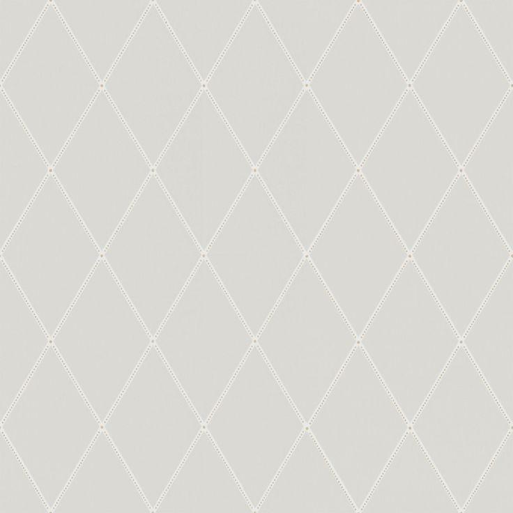 Tredje stora bilden av tapetern Gabriel Ljusgrå