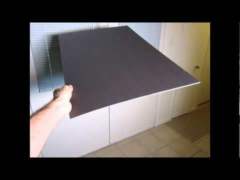 HOME VIDEO PRODUCTION - SAVE MONEY - CHEAP FLAGS (To Control Light) - by Linden Hudson - YouTube