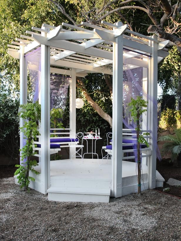 Gazebos: Sweet for a Seat - Hot Backyard Design Ideas to Try Now on HGTV