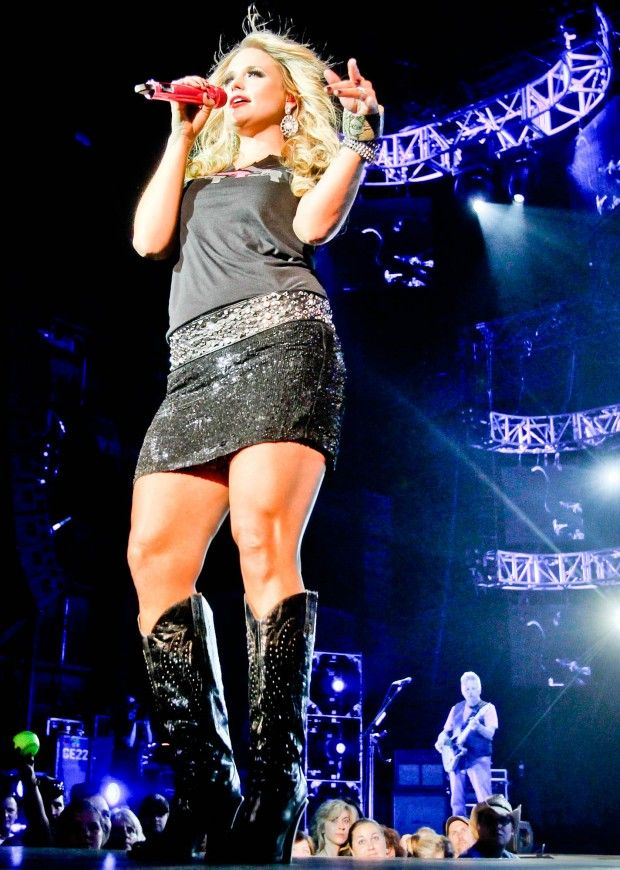 Sparkly skirts and studded boots...has it become clear yet that I consider Miranda Lambert a style icon?