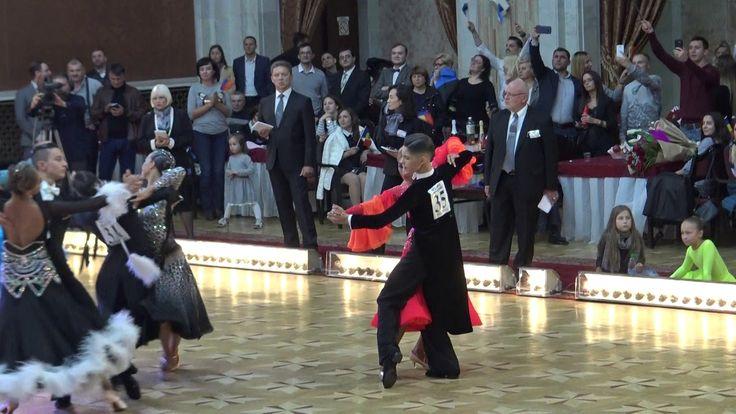 WDSF World Championship Junior II Ten Dance*MARIA SI COSMIN*Semifinal Sl...
