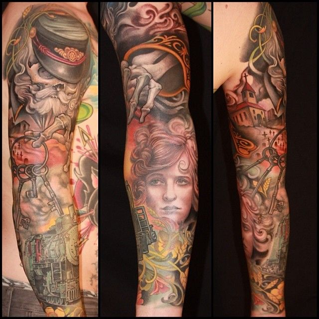 Jeff Gogue at Off The Map Tattoo Northwest in Grants Pass, OR