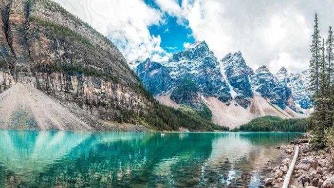 Herunterladen 1920x1080 Full Hd Hintergrundbilder Berge See Gipfel 1080p Banff National Park Mountain Wallpaper National Parks