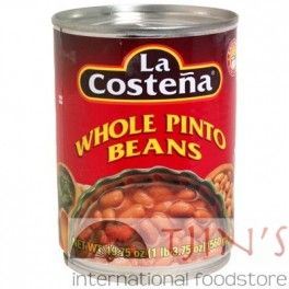 La Costena Whole Pinto Beans, 560gr