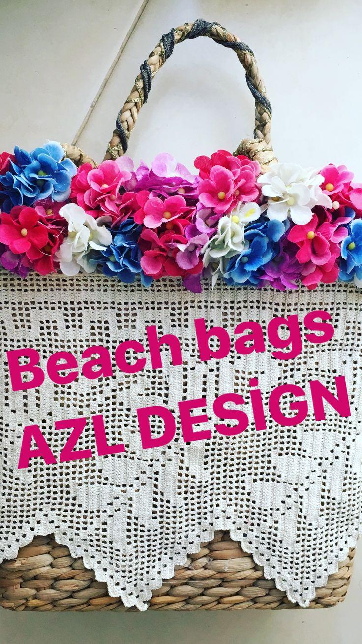 Azl Design Summer 2017 Collection / Beach Bag 50$
