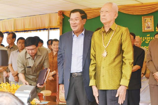 Hun Sen Boulevard opens to traffic