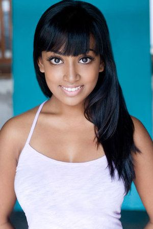Brown skin natural beauty Melinda Shankar
