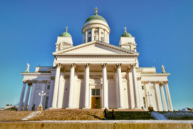 Helsinki Cathedral from the side