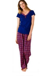 Medallion Pajama Set