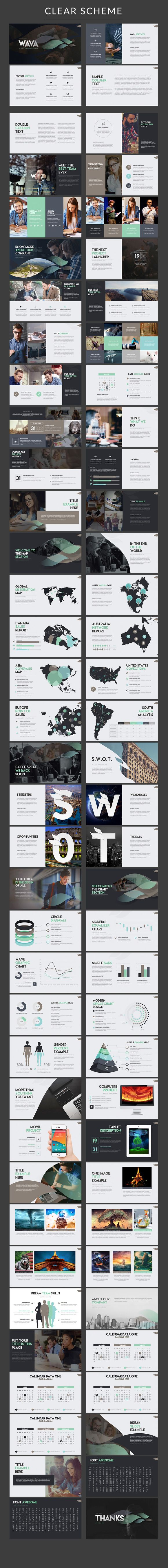 presentation booklet templates