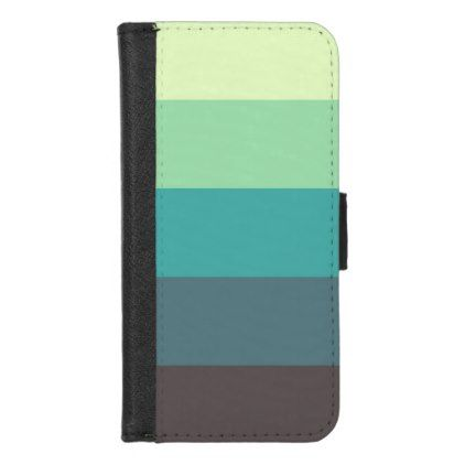bold stripes trendy modern iPhone wallet case - stripes gifts cyo unique style