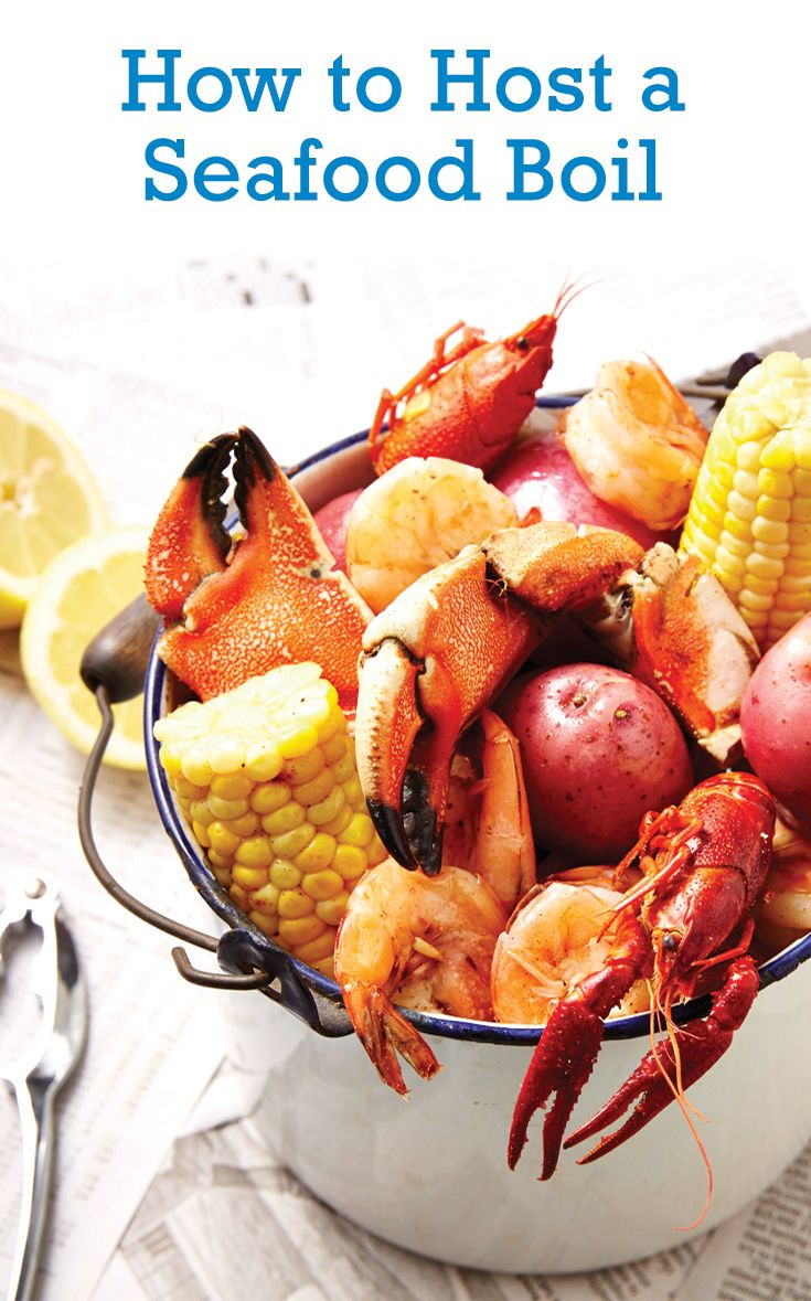Turn your traditional backyard barbecue into a party to remember by hosting a seafood boil.
