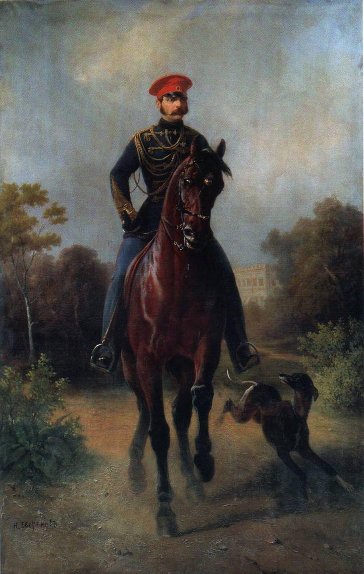 Портрет императора Александра 2