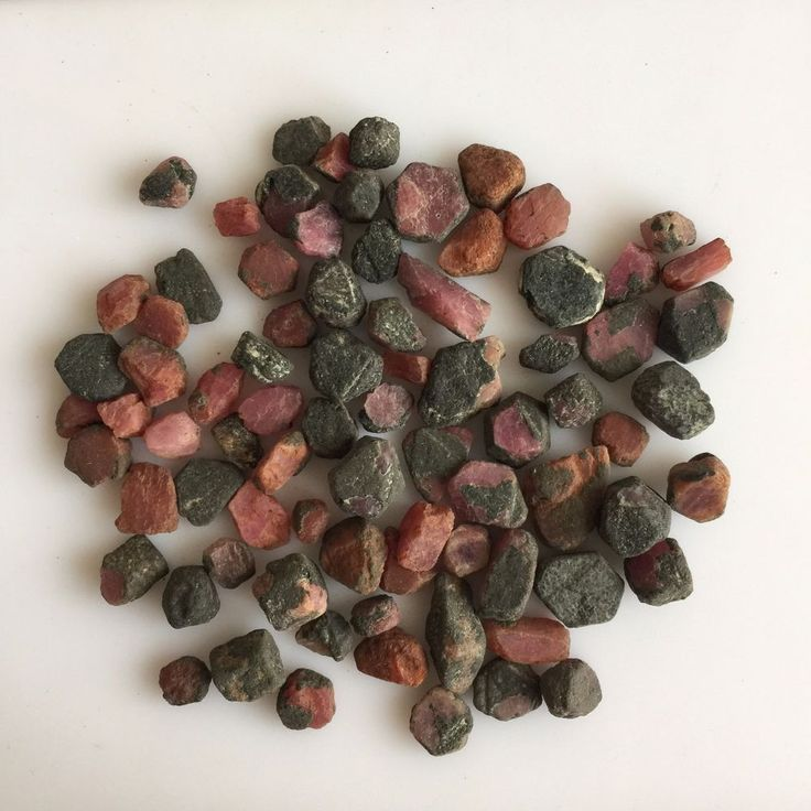 314 CT NATURAL RUBY ROUGH RAW GEMSTONE LOOSE LOT UNTREATED RED MINERAL SPECIMEN