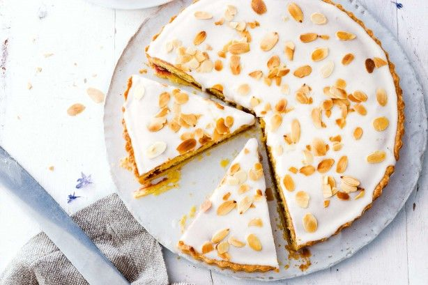 If you have a sweet tooth then this delicate tart will leave you wanting a second slice!