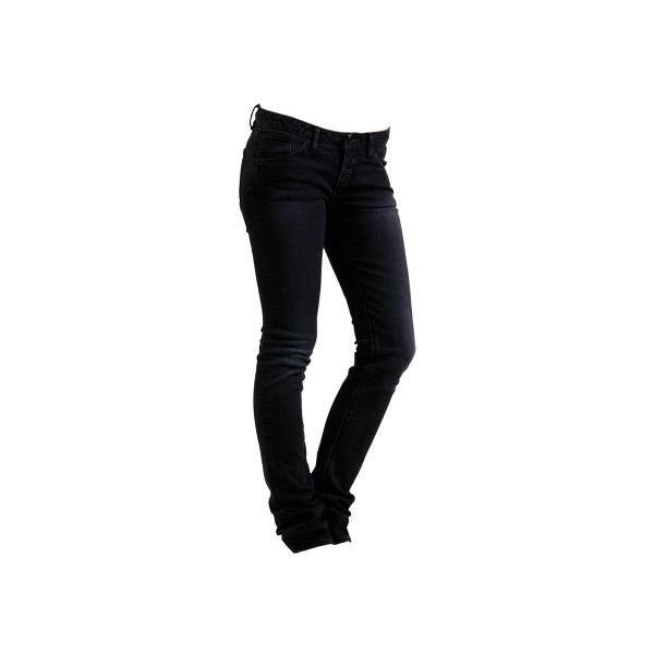 EVE Schwarze Röhrenjeans ($45) ❤ liked on Polyvore featuring jeans, pants, bottoms, calças, oversized jeans, wesc and wesc jeans